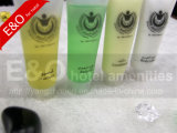 Tubes en plastique d'hôtel de shampooing cosmétique réglés par agréments d'hôtel