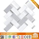 Piedra del dispositivo de seguridad y mosaicos de cristal del aerosol frío para la decoración del cuarto de baño (M855168)