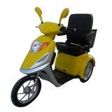triciclo eléctrico del freno de mano 500W los 50km con el asiento de pasajero