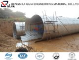 China galvanizó la alcantarilla de acero acanalada asamblea