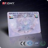 Cartão Profissional de Fudan F08 RFID da Proximidade com Memória 1k