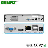 Le plus défunt réseau autonome 4CH DVR NVR Pst-NVR004 de la garantie 1080P 2.0MP)