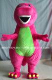 Costume талисмана персонажа из мультфильма Барни динозавра супер качества пурпуровый