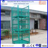 창고 저장을%s Foldable 쌓을수 있는 직류 전기를 통한 철사 강철 콘테이너