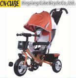3개의 바퀴를 가진 4-In1 새 모델 아기 세발자전거