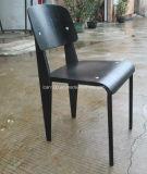 ジーンProuve様式の黒の標準椅子(DC-151014)