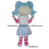 O melhor traje da mascote da menina de Lalaloopsy da fábrica para a venda