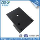 Peças de trituração anodizadas preto do CNC do alumínio da precisão (LM-1032A)