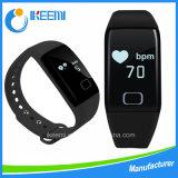 Braccialetto astuto di sport di Bluetooth di forma fisica di frequenza cardiaca (T1S)