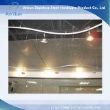装飾のアルミニウムによって拡大される金属の網の天井