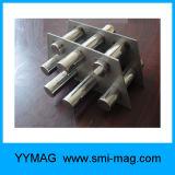 Filtro magnético permanente de neodímio, grade magnética forte