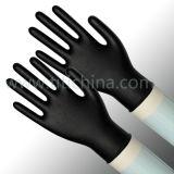 مستهلكة نتريل قفّاز مع لون أسود ([نغبل-بم] 5.0)