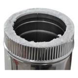 Tubo doppio della stufa dell'acciaio inossidabile per il tubo del camino