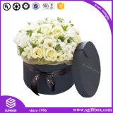 Boîte-cadeau de luxe personnalisée de bande de carton de fleur