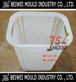 藤のプラスチック洗濯の記憶のバスケット型