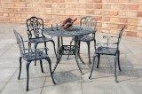 Mobília ao ar livre ajustada da mobília do pátio do alumínio de molde