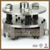 150mm 4 Rollers Diamond Floor Grinder 부시 Hammer Plate