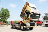 Carro del tractor de Sinotruk HOWO 380HPS 6*4