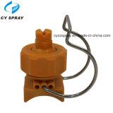 Bocal de spray de água clip-on de pré-tratamento de bola ajustável