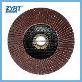 Placa de suportação do vidro de fibra para a roda flexível da aleta do disco da aleta