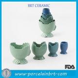 Формы цветка новизны чашки Cearmic цветастой изготовленный на заказ измеряя