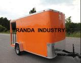 Carro móvel rebocador movente projetado novo do alimento com Ce