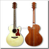 Миниая Jumbo Cutaway электрическая акустическая гитара (AF665CE)
