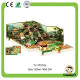 使用された子供の屋内運動場のプラスチックおもちゃの娯楽装置