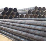 Tubo d'acciaio saldato spirale di uso della costruzione