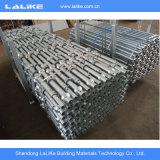 Sistema usado Q235/Q345 do andaime de Cuplock para a venda em China
