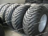 Neumático agrícola 500/60-22.5 de la flotación con el borde 16.00X22.5 de la rueda