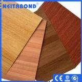 El panel natural de Alucobonds de la serie con la superficie de madera/de mármol