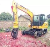 Carregador de máquina escavadora agricultural do Sugarcane da exploração agrícola de Xiniu