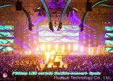 라이브 쇼를 위한 임대 큰 경기장 유연한 LED 커튼 P20mm