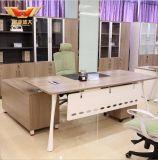 새로운 Ikea 현대 디자인 버찌 목제 지상 컴퓨터 책상