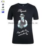 Camisa da faixa de metal T de 2016 homens da venda por atacado do traje da forma