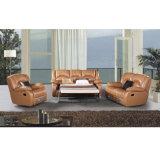 L Form-Sofa mit Recliners-Aufenthaltsraumrecliner-Sofa 6008L