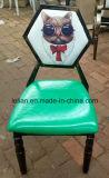 De comfortabele Staaf Chair000 van de Stoffering van het Leer