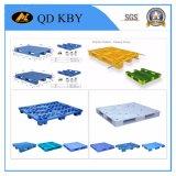 Fabricação plástica usada transporte da pálete com HDPE