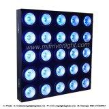 Qualité 25*10W RGBW 4 dans 1 lumière d'oeillère de matrice de DEL
