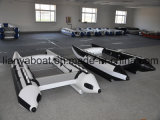 Barco inflável de competência rápido de Liya China Hypalon