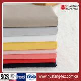 T/C 65/35 polivinílico/tela blanca/teñida del algodón