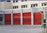 Porta secional automática do armazém aéreo (c)
