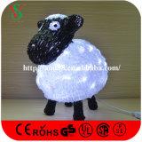 Lamm der Weihnachtsdekoration-Beleuchtung-LED