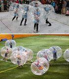 Aufblasbarer Spielzeug TPU Belüftung-menschlicher Körper-Luftblasen-Kugel-Fußball-verworrene Kugel-Anschlagpuffer-Kugel