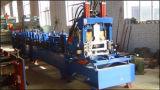 Le faisceau à grande vitesse de forme de C poinçonnant et a galvanisé l'acier de Purlin de la bande Z de feuille laminent à froid former la machine