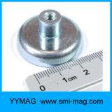 Aimant de bac de néodyme du filet de vis M3/M4/M6/M8