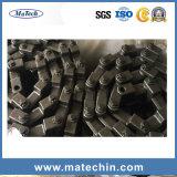 カスタム金属の鋼鉄暖かい鍛造材のコンベヤーのスクレーパーの鎖