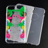 Bling 분말 반짝임 iPhone 7을%s 주문 셀룰라 전화 상자