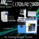 Laser chinois Marking Machine Hsco2-60W de Manufacturer CO2 Nonmetal pour Wood, Acrylic, Leather, Button, Plastic